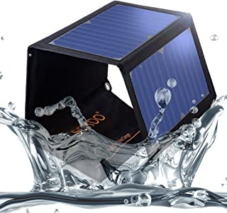 SOKOO 22W 5V 2-Port USB Portable Foldable Solar Charger with High Efficiency Solar Panel, Reinforced and Waterproof, for C...