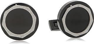 Diamond Moon Stainless Steel Cufflinks for Men, Stainless Steel - 1800541240443