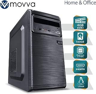 COMPUTADOR LITE INTEL DUAL CORE J1800 2.41GHZ MEM. 4GB HD 160GB HDMI/VGA FONTE 200W LINUX - MVLIJ18001604P - MOVVA