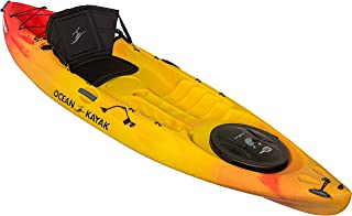 Ocean Kayak Caper Angler One-Person Sit-On-Top Fishing Kayak, Sunrise, 11 Feet