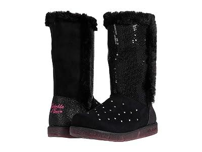 SKECHERS KIDS Glitzy Glam 314857L (Little Kid/Big Kid) (Black) Girls Shoes