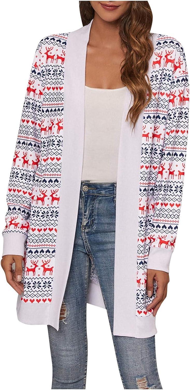 Sweaters for Women Winter,Wamajoly Women's Long Sleeve Soft Chunky Knit Sweater Open Front Cardigan Outwear