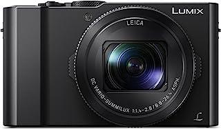 دوربین دیجیتال PANASONIC LUMIX LX10 4K، سنسور 20.1 مگاپیکسلی یک اینچ، 3X LEICA DC VARIO-SUMMILUX لنز، F1.4-2.8 دیافراگم، POWER O.I.S. تثبیت، 3 اینچ LCD، DMC-LX10K (سیاه)