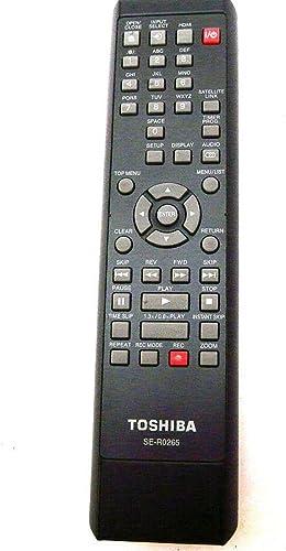 2021 Genuine outlet online sale authentic Toshiba Remote Control SE-R0265 FOR DR430 DR-430 DR430KU DR-430KU 2021 79103439 sale