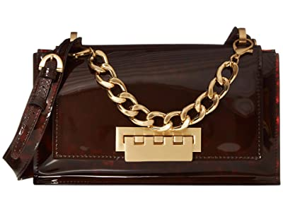 ZAC Zac Posen Earthette Top-Handle Shoulder (Tortoise Glass) Handbags