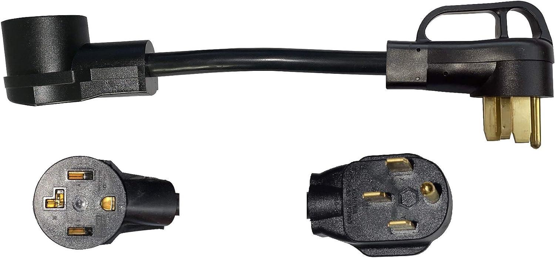 NEMA 14-50P to 14-30R 120V 240V Classic 50 Plug Male Amp A Oakland Mall 4 30 Prong