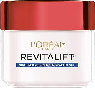 Night Cream By L'Oreal Paris Skin Care, Revitalift Anti-Wrinkle & Firming Night Cream Face Moisturizer With Pro-retinol, Paraben Free, 2.5 Oz
