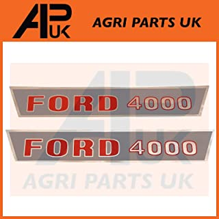 APUK PAIR of Bonnet catch Clamping Pin /& wing nut Compatible with Massey Ferguson 35 35X FE35 Tractor