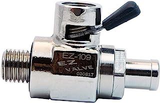 EZ-109(12mm-1.5) EZ Oil Drain Valve with removable Straight Hose End(H-001) Combo