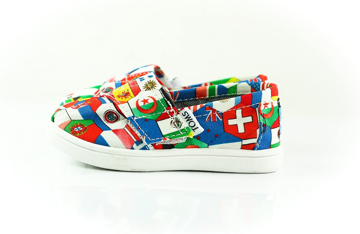 TOMS World Flags Watercolor Tiny Classic 10002292