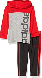 adidas Baby Boys' Clrblk Hooded Top Pant Set