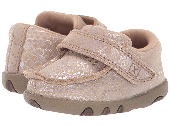 Twisted X  Driving Moc (Infant/Toddler) (Snake Print) Shoes