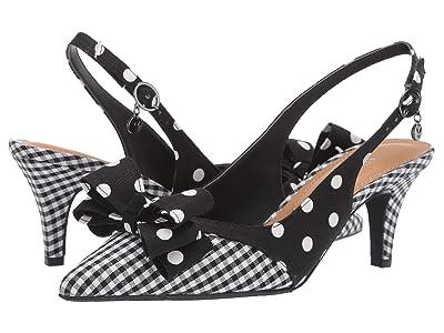 J. Renee Gabino (Black/White) High Heels