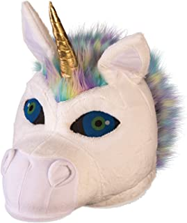 Fluffy Unicorn Mascot Mask