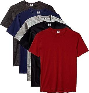 Kit com 5 Camisetas Masculina Básica Algodão Premium