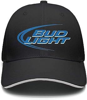 a11b505b80a76 uter ewjrt Adjustable Bud-Light-Beer-Logo- Baseball Hat Personalized New Cap