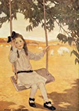 A Childs Book of Old Verses 1910 On the swing Poster Print by Jessie Willcox Smith (18 x 24)