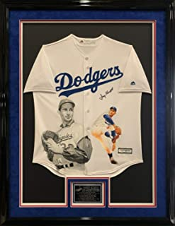 Sandy Koufax Autographed Signed/Framed Hand Painted Los Angeles Dodgers Baseball Jersey PSA