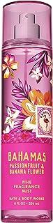Bath and Body Works BAHAMAS - PINK PASSIONFRUIT & BANANA FLOWER Fine Fragrance Mist 8 Fluid Ounce (2019 Edition)