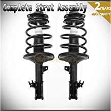 WIN-2X New 2pcs Front Left & Right Side Quick Complete Suspension Shock Struts & Coil Springs Assembly Kit Fit 97-01 Toyota Camry 2.2L 99-03 Solara 2.2L 2.4L L4
