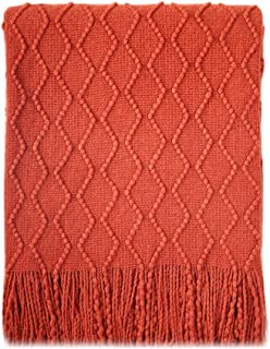 Best orange throw blanket and pillows Reviews