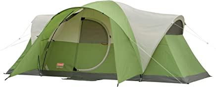 Coleman 8-Person Tent for Camping | Elite Montana Tent...