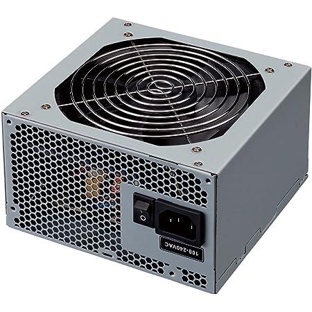 玄人志向 PC用電源 ATX 定格600W 12cm静音ファン 80PLUS BRONZE取得 KRPW-SS600W/85+