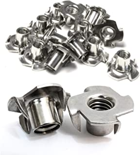 Stainless T-Nuts, 1/4