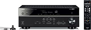 Yamaha Audio and Video Receiver, Black (RXV585B)