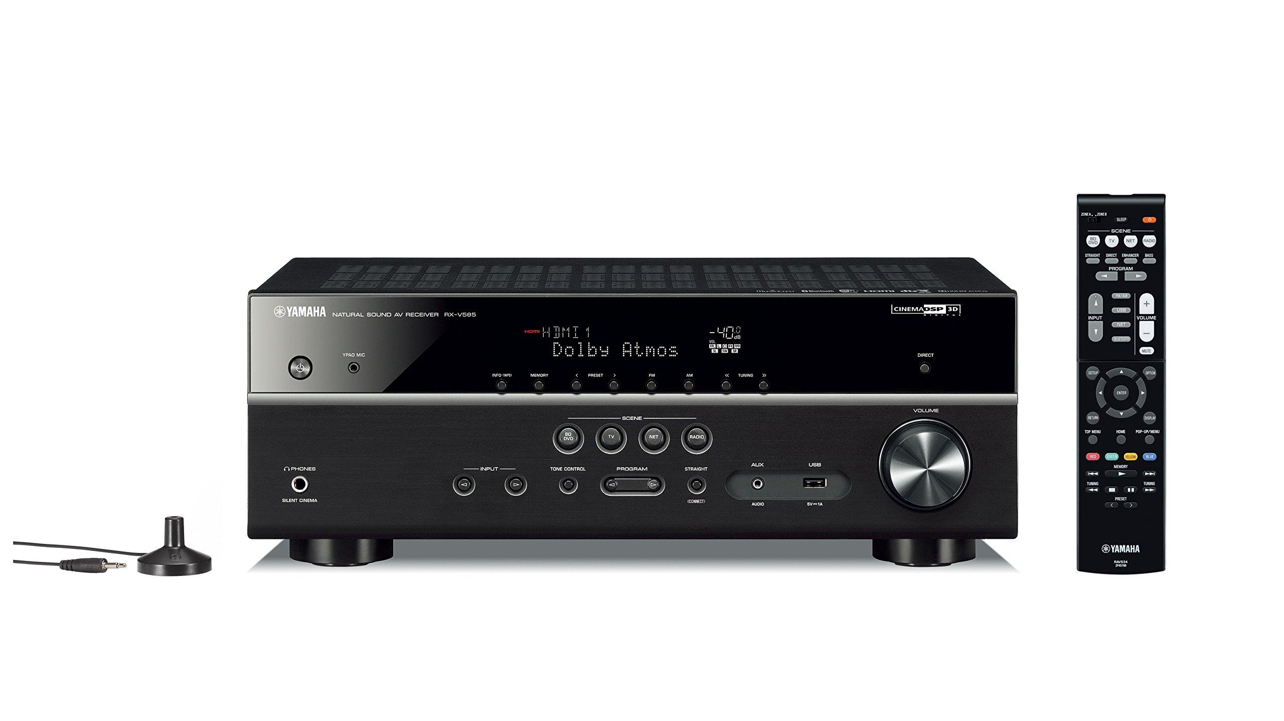 Yamaha Audio RX V585BL RX V585 Receiver