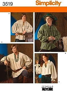 Best men's renaissance shirt pattern Reviews