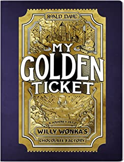 My Golden Ticket: Personalized Willy Wonka book