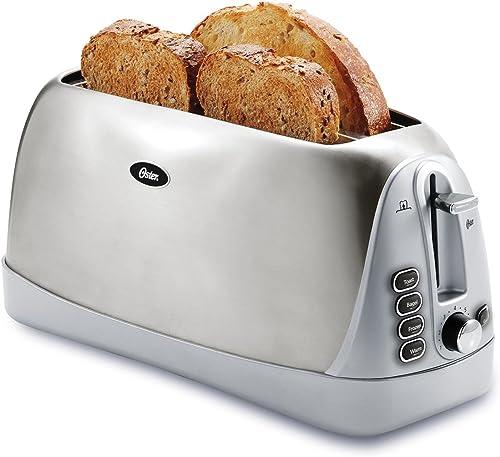 Oster-Long-Slot-4-Slice-Toaster,-Stainless-Steel-(TSSTTR6330-NP)