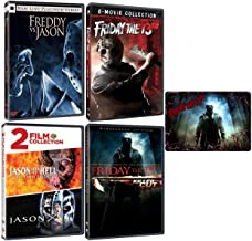 Friday the 13th: Complete Jason Horror Series DVD Collection 12 Movies with Bonus Glossy Art Card