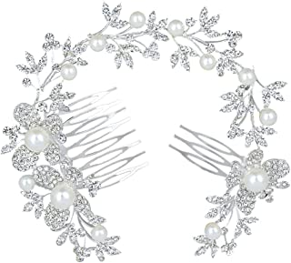 Cristal cubique CZ Mariage classique Tiare Couronne Accessoires Cheveux Bijoux Femme Ch10030