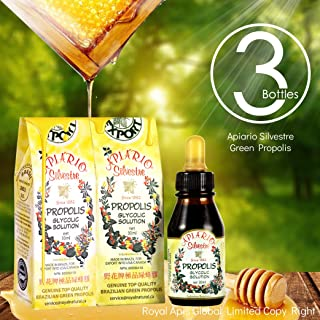 Sponsored Ad - Immune Booster/Immune Support - Official Distributor - 3 Bottles of Apiario Silvestre Brazilian Green Bee P...