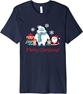 Merry Christmas T-shirt Cornelius Abominable Snowman snowfla