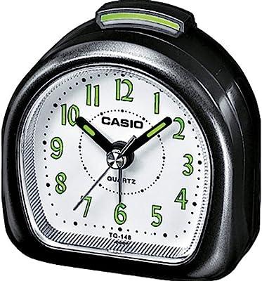 Casio Collection TQ-148-1EF, Reloj con Alarma Diaria y Pantalla de Neón