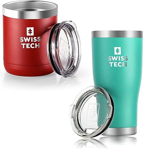 wholesale SWISS+TECH 20 online sale oz online Tumbler and SWISS+TECH 10 oz Tumbler outlet online sale
