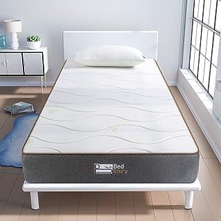 BedStory Colchon Viscoelastico Aloe Vera Colchones para Cama Hotel Viscoelastica Firmeza Media An...