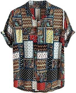 Sylar Camisas De Hombre Manga Corta Camisetas Hombre Originales con Estampado Vintage Camisa Hawaiana Hombre Verano Playa ...