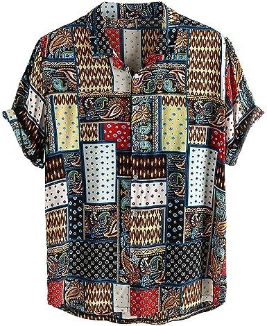Sylar Camisas De Hombre Manga Corta Camisetas Hombre Originales con Estampado Vintage Camisa Hawaiana Hombre Verano Playa Funny Hawaii Shirt Camiseta ...