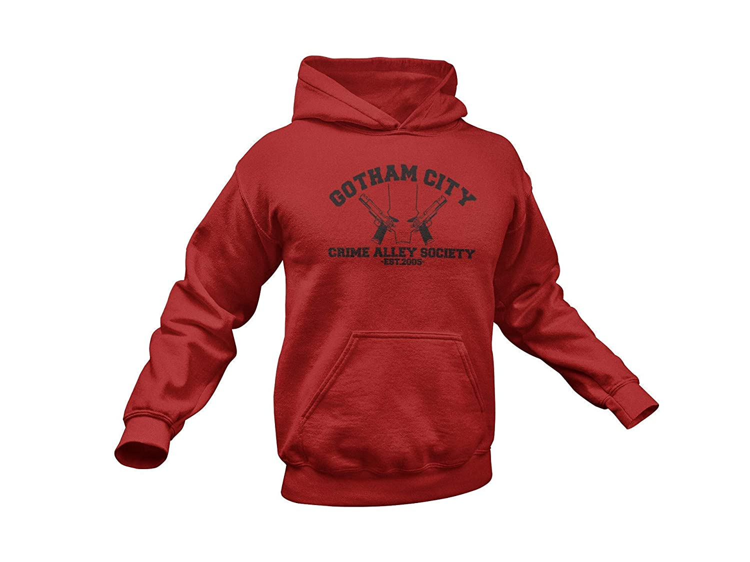 Red Hood Hoodie. Inspired High quality new Hoodie City Crime Alle We OFFer at cheap prices Gotham