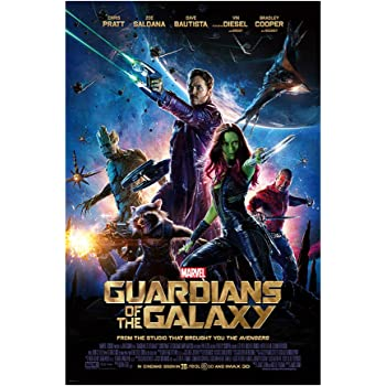 """Guardians of the Galaxy Marvel 36/"""" x 24/"""" Large Wall Poster Print Fan Art Movies"""