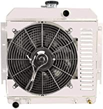 ALLOYWORKS 3Row Radiator Shroud Fan Thermostat For Dodge Dart Plymouth Valiant Barracuda V8