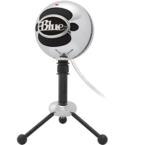 Blue Microphones - Microphone USB Snowball Aluminium brossé