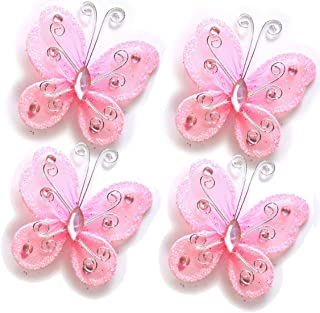 Best pink butterfly table decorations Reviews