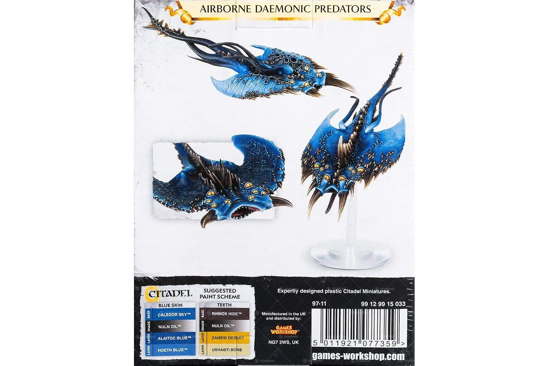 99129915033 Age of Sigmar Daemons of Tzeentch Screamers Games Workshop Warhammer 40K 3 Miniatures