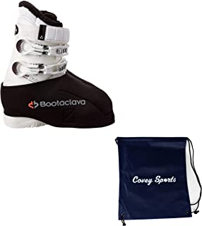 Covey Sports Ski Boot Warmers Neoprene Glove Cover Bundle,  Bootaclava Snow Skiing Boot Covers Bundled Bag