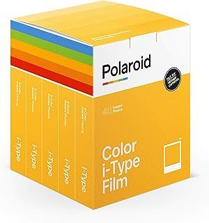 Polaroid 6010 Omedelbar Färg I-Typ Film, Paket med 40, Vit